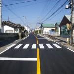 平成21年度 県道中野豊野線舗装修繕