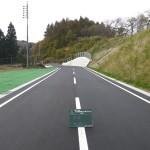 平成22年度 県単道路改築工事(栗の木坂3)
