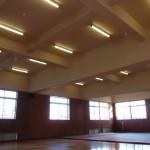 長野東高校体育館耐震補強工事